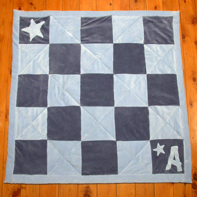 A quilt for baby Arky