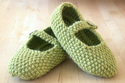 A pair of mary janes for a very special baby