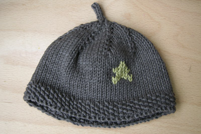 A simple hat for Gaspar
