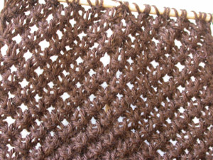brown scarf underway