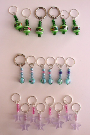 Stitch Markers made last night