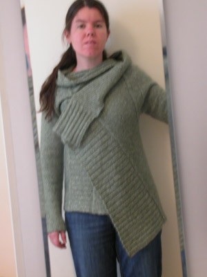 Green Sussan sweater