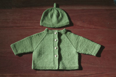 Dumb Baby Sweater in Rowan Wool Cotton