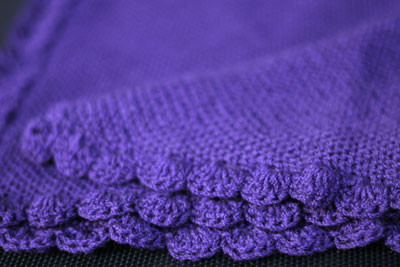 Purple Dolly Blanket